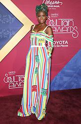 V Bozeman bei den Soul Train Awards 2016 in Las Vegas / 061116<br /> <br /> *** Soul Train Awards 2016 Red Carpet at the Orleans Arena in Las Vegas, USA, November 6, 2016 ***