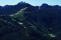 Summit of Grouse Mountain