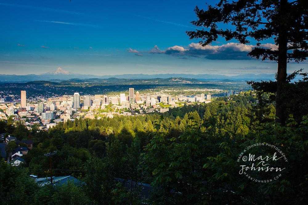 Mt Hood & Portland, Oregon, USA
