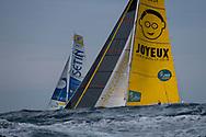 Sidney Gavinet (Classe Rhum Mono) during the Route du Rhum 2018 race start in Saint Malo, France, on November 4th, 2018 - Photo Olivier Blanchet / ProSportsImages / DPPI
