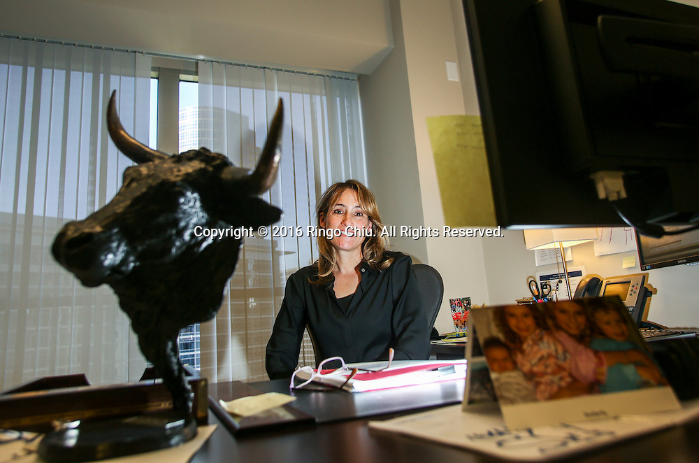 Danielle Prunier, Senior Vice President–Wealth Management, Senior Financial Advisor at Merrill Lynch.<br /> (Photo by Ringo Chiu/PHOTOFORMULA.com)<br /> <br /> Usage Notes: This content is intended for editorial use only. For other uses, additional clearances may be required.