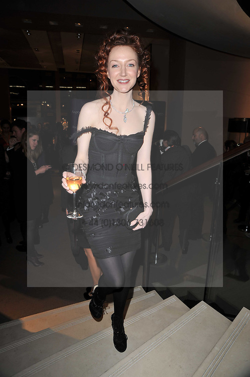 OLIVIA GRANT at the BAFTA Nominees party 2011 held at Asprey, 167 New Bond Street, London on 12th February 2011.