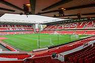 General view of the City Ground during the EFL Sky Bet Championship match between Nottingham Forest and Burton Albion at the City Ground, Nottingham, England on 21 October 2017. Photo by Jon Hobley.