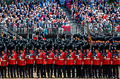 Trooping the Colour Rehearsal Prince Andrew