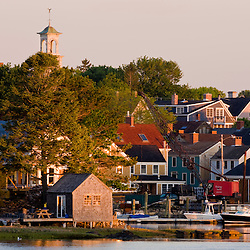The South End in Portsmouth, New Hampshire.