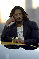 4 September 2004:  Celebrity Rohan Marley in Los Angeles, CA. <br /> <br /> Rohan Anthony Marley is an entrepreneur and former American football player. He is the son of reggae artist Bob Marley and Janet Hunt.