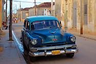 Station wagon taxi in Gibara, Holguin, Cuba.