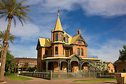 The Rosson House in Historic Heritage Square and Science Park in downtown, Phoenix, Arizona.