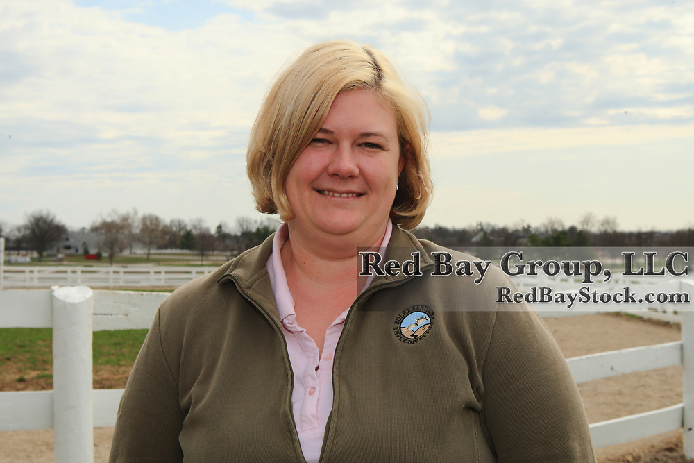Christina Gray, Director of Competition at Equestrian Events, Inc which is the organizer of the Rolex Kentucky Three-Day Event at the Kentucky Horse Park in Lexington, KY.