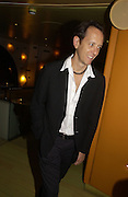 Richard E. Grant After party for 'Otherwise Engaged' which opened at the Criterion Theatre. London at Cocoon. Air St. 31 October 2005. ONE TIME USE ONLY - DO NOT ARCHIVE © Copyright Photograph by Dafydd Jones 66 Stockwell Park Rd. London SW9 0DA Tel 020 7733 0108 www.dafjones.com
