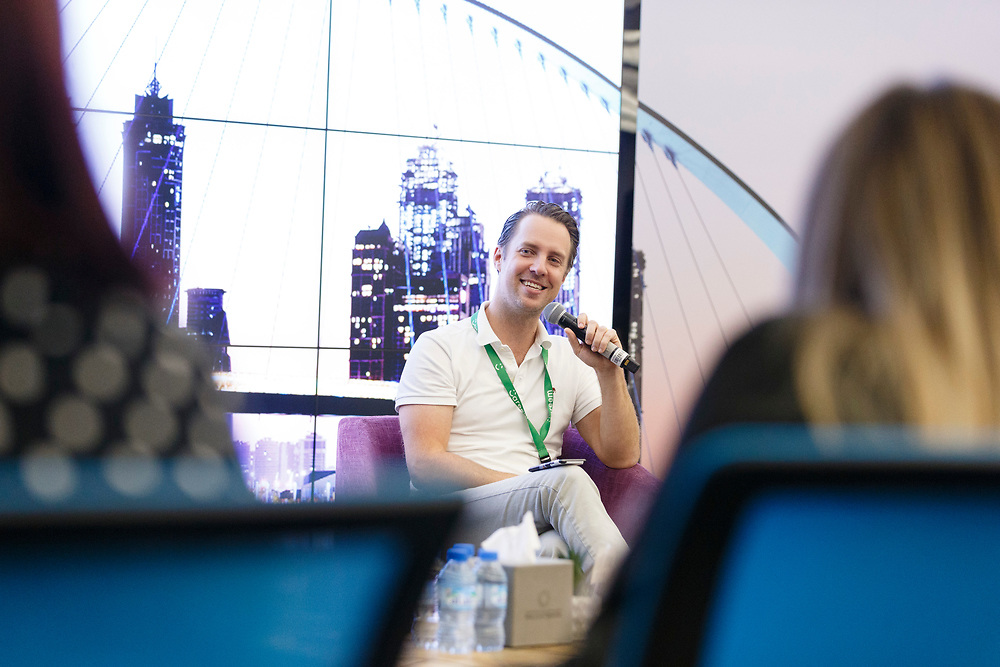 2019 Feb 21: Saudi Technology Ventures Hosted it's first STV Talks event in collaboration with Area 2071 in Dubai, UAE with special guests Magnus Olsson, founder of Careem, and Nelson Mattos, Google's former Global Vice President for Product and Engineering.  Trevor Brown, Jr./Trevor Brown Photography
