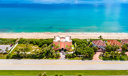 """EXCLUSIVE: This unique German castle can now be yours but it is not in the snowcapped mountains of Bavaria, instead, it sits on the golden coast of Florida. The stunning property was custom made by the Cramer family who owns the largest independent brewery in Germany. Dubbed the """"Warsteiner Castle"""", after the name of the brewing company, it was built in 2004 in Melbourne Beach, Florida. The incredible home features five bedrooms, four full baths, two half baths and includes an in-law suite, a guest suite, a waterfall pool and a four-car garage. The 7,840 square-foot home is also being sold fully furnished. Built for entertaining with a media room and home theater, it also has spectacular views from everywhere in the home including a rooftop deck for star gazing and watching the rockets launch from Cape Canaveral. The """"castle"""" stands as the landmark for the Aquarina Golf and Tennis Country Club, a gated golf community on the barrier island, which the Warsteiner company helped develop. The property also features unique German styling and interior design, made especially for the Cramer family. It even has a bar which was made from an imported metal barrel once used to brew the family's famous beer. The Warsteiner Brewing Company sold the property in 2015 to an American family who kept the property identical to the original owners. The current owners are now hoping to offload the home to someone who will enjoy its Germanic architecture. Warsteiner Brewery was founded in 1753 and is now one of the largest private breweries in Germany. The company is owned by Eva-Catharina Cramer after she inherited the family business. The property is being listed by realtor Dave Settgast. 17 Jan 2019 Pictured: Warsteiner Castle. Photo credit: Dave Settgast / MEGA TheMegaAgency.com +1 888 505 6342"""