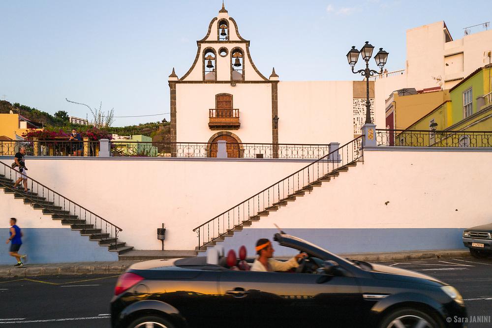 Iglesia De San Miguel Arcángel, Tazacorte, La Palma, Canarias, España, Europa