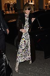Americans in Paris Vogue Party arrivals. 03 Mar 2019 Pictured: Anna Wintour. Photo credit: Neil Warner/MEGA TheMegaAgency.com +1 888 505 6342