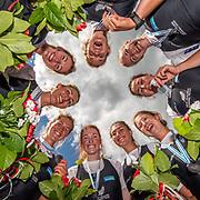 NZ W8+ @ World Champs 2015