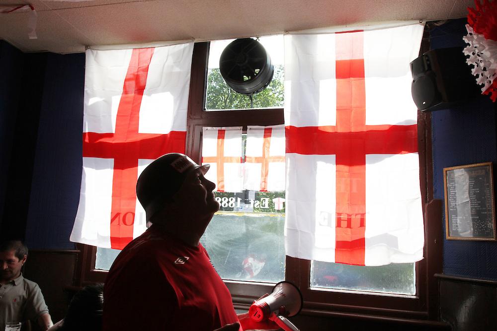 England v Germany at Three Lions in Hackney.<br /><br />Copyright: Jonathan Goldberg