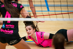 Susanne Kos of Fast in action during the league match Laudame Financials VCN - FAST on January 23, 2021 in Capelle aan de IJssel.
