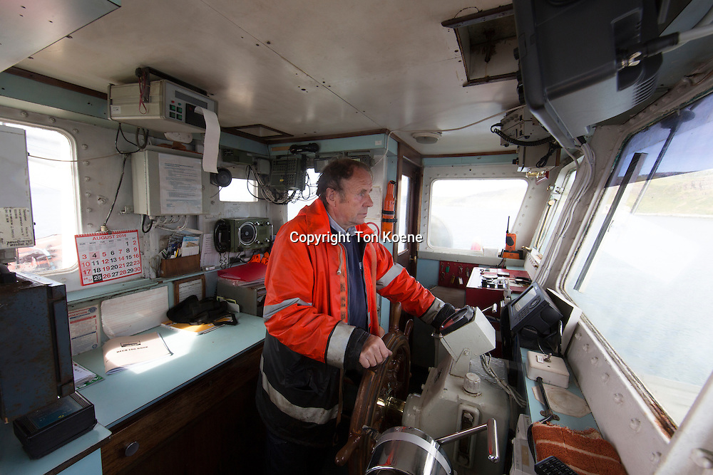 ferry captain, service between cathlin island and ballycastle
