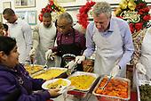 Mayor De Blasio and National Action Network on Christmas