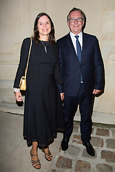 Bruno Pavlovsky and his wife Nathalie arriving the Chanel 'Code Coco' Watch Launch Party as part of the Paris Fashion Week Womenswear Spring/Summer 2018 on October 3, 2017 in Paris, France, October 03 2017. Photo by Nasser Berzane/ABACAPRESS.COM