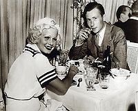1936 Jean Harlow & William Hagen Perry at Trocadero Cafe Nightclub