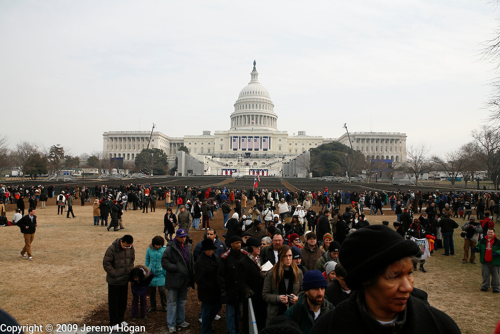 The United States Capital building where Barack Obama will be sworn in as president Tuesday.