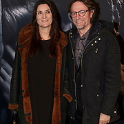 NLD/Amsterdam/20150211 - Premiere Fifty Shades of Grey, Erik van Tijn en partner Teruska Bollen