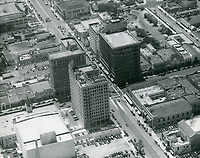 1937 Looking at Hollywood Blvd. & Highland Ave.