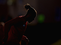 CARDIFF, WALES - Monday, November 12, 2018: Wales' captain Ashley Williams during a training session at the Vale Resort ahead of the UEFA Nations League Group Stage League B Group 4 match between Wales and Denmark. (Pic by David Rawcliffe/Propaganda)