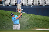 Paul Dunne (IRE) looks over his long putt on 9 during 2nd round of the 100th PGA Championship at Bellerive Country Club, St. Louis, Missouri. 8/11/2018.<br /> Picture: Golffile   Ken Murray<br /> <br /> All photo usage must carry mandatory copyright credit (© Golffile   Ken Murray)