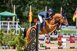 SCHOELLHORN Philipp (GER), Cosmic Blue von der Held<br /> 2. Qualifikation 5jährige Pferde<br /> Warendorf - Bundeschampionate 2020<br /> 28. August 2020<br /> © www.sportfotos-lafrentz.de/Stefan Lafrentz