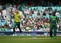 Cricket - 2019 ICC Cricket World Cup - Group Stage: South Africa vs. Bangladesh<br /> <br /> Bangladesh's Soumya Sarkar dismissed by South Africa's Chris Morris, caught by Quinton de Kock for 42, at The Kia Oval.<br /> <br /> COLORSPORT/ASHLEY WESTERN