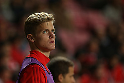 December 9, 2017 - Lisbon, Lisbon, Portugal - Benficas midfielder Keaton Parks from United States during the Premier League 2017/18 match between SL Benfica v GD Estoril Praia, at Luz Stadium in Lisbon on December 9, 2017. (Credit Image: © Dpi/NurPhoto via ZUMA Press)