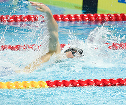 HANGZHOU, Dec. 16, 2018  Ryan Held of Team USA competes during Men's 4X100m Medley Relay Final at 14th FINA World Swimming Championships (25m) in Hangzhou, east China's Zhejiang Province, on Dec. 16, 2018.Team USA claimed the title with 3:19.98. (Credit Image: © Xinhua via ZUMA Wire)