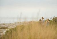 Rhode Island with the girls.  ©2019 Karen Bobotas Photographer