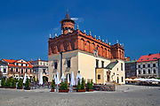 Renesansowy ratusz na tarnowskim rynku, Polska<br /> Renaissance town hall on Tarnów market place, Poland