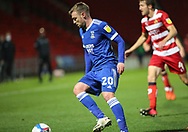 Ipswich Town forward Freddie Sears (20) during the EFL Sky Bet League 1 match between Doncaster Rovers and Ipswich Town at the Keepmoat Stadium, Doncaster, England on 20 October 2020.
