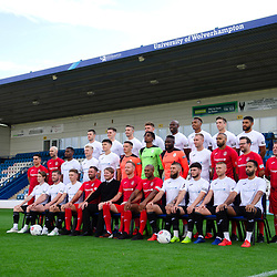 AFC Telford United pre-season photoshoot at the New Bucks Head Stadium on Thursday, August 1, 2019<br /> <br /> Free for editorial use only<br /> Picture credit: Mike Sheridan/Ultrapress<br /> <br /> MS201920-004