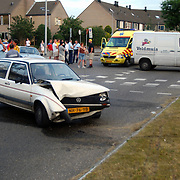 Ongeval Bovenmaatweg - Enkhuizerzand Huizen, bestuurder gevlucht