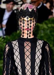Cara Delevingne attending the Metropolitan Museum of Art Costume Institute Benefit Gala 2018 in New York, USA.