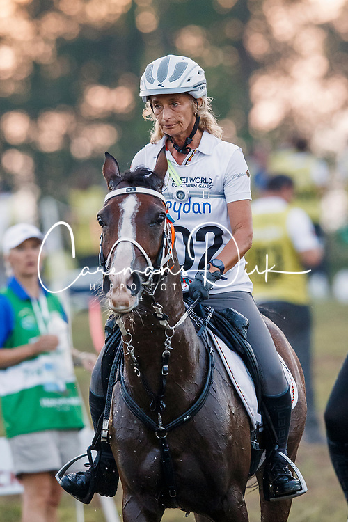 Boulanger Carine, BEL, Tawfiq Du Courtisot<br /> World Equestrian Games - Tryon 2018<br /> © Hippo Foto - Dirk Caremans