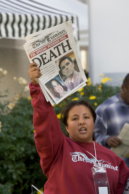 Redwood City, CA - DECEMBER 13: The last day of the Scott Peterson penalty phase in Redwood City, California December 13, 2004.  Photo by David Paul Morris