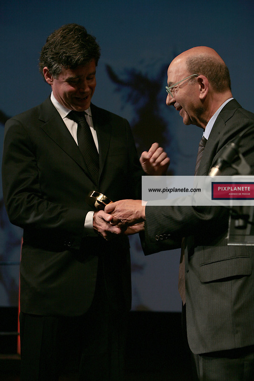 Jay McInerney - André Halimi - Remise du prix littéraire - 33 ème Festival du Film Américain - Deauville - 6/09/2007 - JSB / PixPlanete