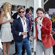 NLD/Amsterdam/20120601 - Uitreiking Talkies Terras Awards 2012, Estelle Gullit - Cruijff, Eric Kuster, Bas Smit en Patrick Kluivert