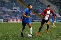 Jordan Keane. Stockport County FC 2-2 Altrincham FC. Vanarama National League. 2.1.21