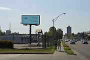 "4/5/16 Jackson,MS. In response to the Mississippi Religious Freedom bill being signed into law by Governor Phil Bryant Planting Peace a nonprofit rented a billboard in the shadow of the State Capital and makes fun of the law it depicts a image of Jesus and  It says ""  Guys , I said I hate Figs..and to Love Thy neighbor."" The billboard and Planting Peace hope to remind Christians of the ""Golden Rule."" Photo ©Suzi Altman"