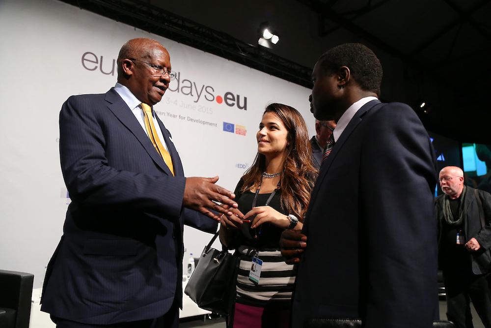 04 June 2015 - Belgium - Brussels - European Development Days - EDD - Closing Panel - From development aid to international Cooperation - Sam Kutesa , President of the 69th United Nations General Assembly © European Union