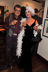 NICKY & JUNITA KERMAN at a party to celebrate the launch of the new Mauritius Collection of jewellery by Forbes Mavros held at Patrick Mavros, 104-106 Fulham Road, London SW3 on 5th July 2011.