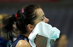 28-08-2010 VOLLEYBAL: WGP FINAL BRAZIL - ITALY: BEILUN NINGBO<br /> Brazil crush Italy in straight sets / Serena Ortolani<br /> ©2010-WWW.FOTOHOOGENDOORN.NL