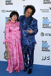 February 23, 2019 - Santa Monica, CA, USA - LOS ANGELES - FEB 23:  Gabby La La, Boots Riley at the 2019 Film Independent Spirit Awards on the Beach on February 23, 2019 in Santa Monica, CA (Credit Image: © Kay Blake/ZUMA Wire)